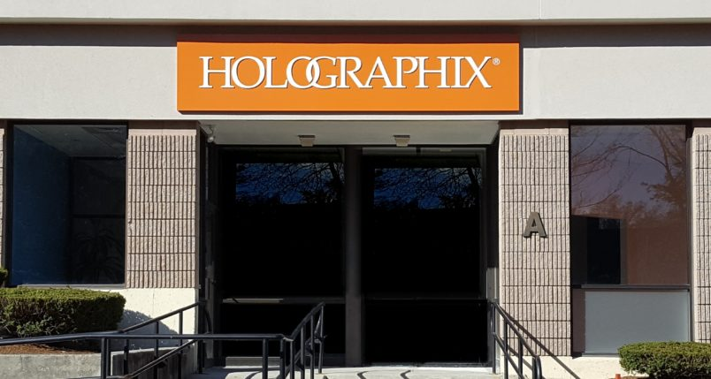 Holographix Facilities - Front Entrance