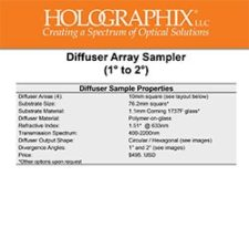 Diffuser Array Sampler 1 to 2