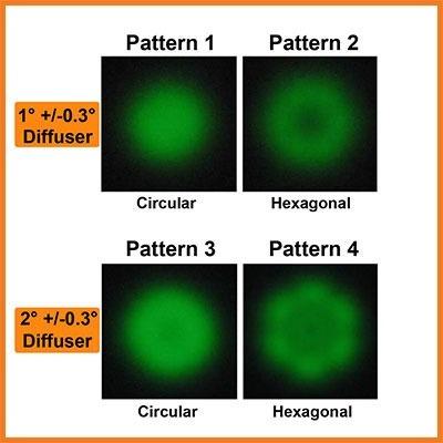 sampler diffuser array specification sheet