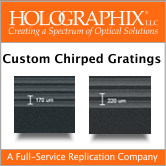 chirped grating brochure
