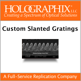 slanted grating brochure