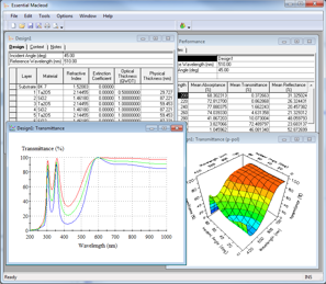 Holographix Facilities MacLeod Design Software Screenshot