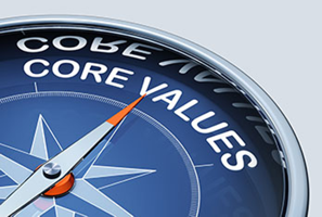 Core Values Compass