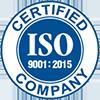 ISO 9001 :2015 logo